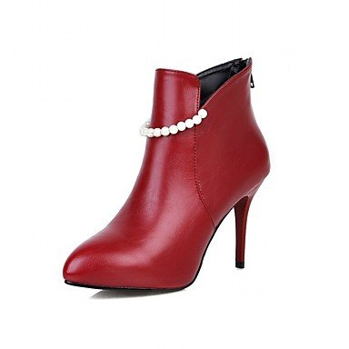 Moda Donna Sandali Sexy donna tacchi Primavera / Autunno / Western Stivali / Neve / Stivali Stivali da cavallo / Moda / STIVALI DA MOTO Black