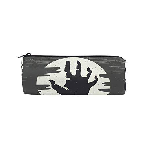 (bonipe Halloween Zombie Hand Bleistift Tasche Schule Stationery Pen Box Reißverschluss Kosmetik Make-up-Tasche)