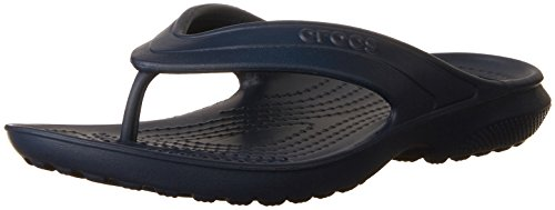 crocs Classic Flip K Cdy Pink, Unisex-Kinder Pantoffeln, Blau (Navy), Gr. 34-35 EU (3 Kinder UK)