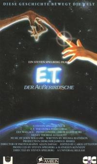 E.T. - Der Außerirdische [VHS]