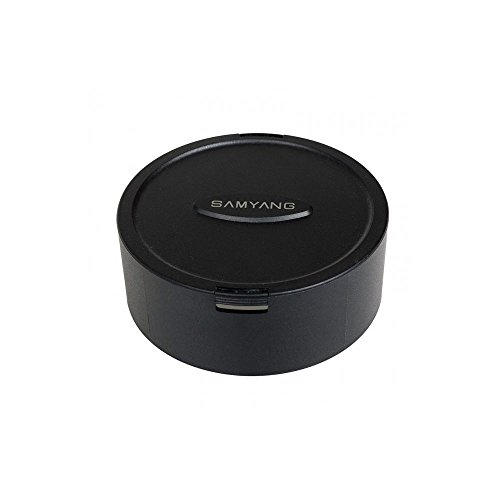 Samyang-Objetivo de Tapa de Objetivo para Samyang 7,5mm y 8mm CSC Lentes-Negro