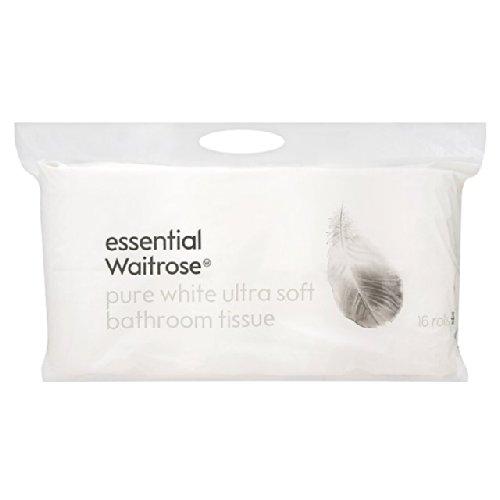 ultra-soft-pure-white-bathroom-tissue-essential-waitrose-16-per-pack