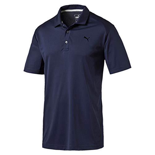 Puma Herren ESS Pounce Polo Shirt, Peacoat, M -