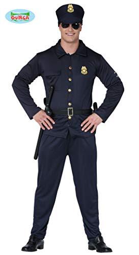 Cop Kostüm Herren - Polizisten Kostüm für Erwachsene Polizist Herrenkostüm