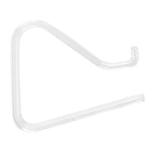 SODIAL(R) 4 Stueck Picknick-Clips, Spring Tischtuchklemmen Tischtuchklammer, transparent - 3