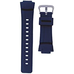 Casio Genuine Replacement Strap for G Shock Watch Model G-100-2B, G-2310-2V, G-2400-2V, G-100-2BV