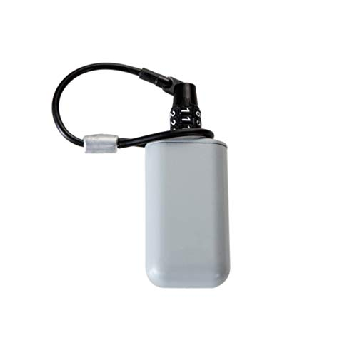 SZWIYO Mini Portable Key Password Lock Box with Small Storage Tank Key Password Box Outdoor Backpack Hanging Metal Hidden Password Lock Zinc Alloy Fixed Password Lock Portable Key Storage Box -