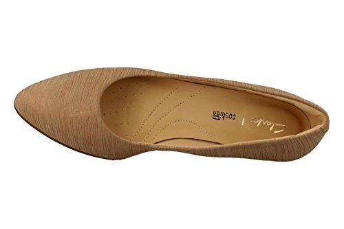 CLARKS Chaussures 26132420 Mena Bloom Beige Beige