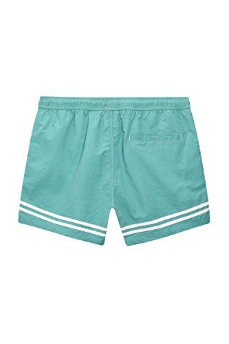 next Short de bain à motif rayé placé Standard Homme Vert
