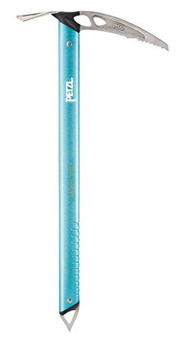 Petzl Erwachsene Glacier Literide Eispickel Blau 50cm -