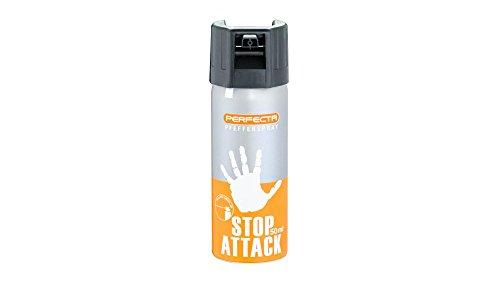 Perfecta Strahl Tierabwehr Abwehrsprays Pfefferspray 10% OC Inhalt: 50 ml, mehrfarbig, Größe