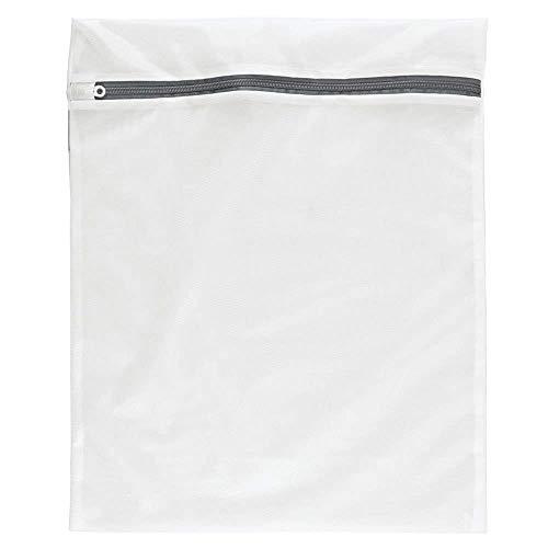 Novago Filet à linge (sac de lavage) en maillage double couche très résistant et protecteur spécialement conçu pour vos linges sensibles ou de qualité (M (50x40 cm))