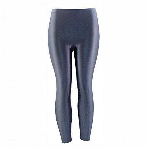 Ayujia Yogahosen 21 Farben Plus Größe Fluoreszierende Farbe Frauen Leggings Elastische Leggings Spandex Multicolor Glänzend Glänzend Leggins Hosen Für Mädchen -
