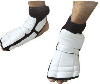 WACOKU Taekwondo weiß Wettbewerb Sparring Spann Fuß Wachen-XL