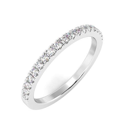 The Fine Diamonds Damen - Gold 9 Karat (375) 9 Karat (375) Weißgold Brilliant Rund Diamant