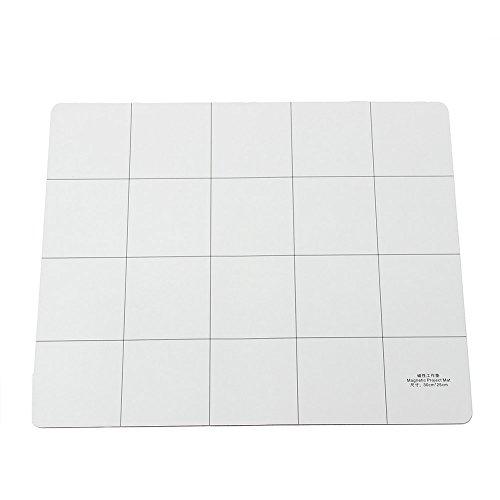 Tabelle - TOOGOO(R)Magnetische 30x25cm Magnet Projekt Mat Tabelle Fix Es hat IPhone Samsung - 4 Iphone Schraube Mat