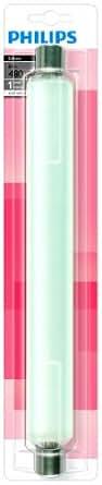 Philips Incandescente Tube Linolite T37 60 W S19 OP 1 An 1BL 230V