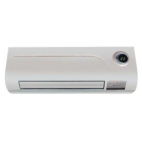 31pQ768vRbL. SS500  - prem-i-air PTC Over Door Heater/Fan with Remote Control and Timer, 2 kW
