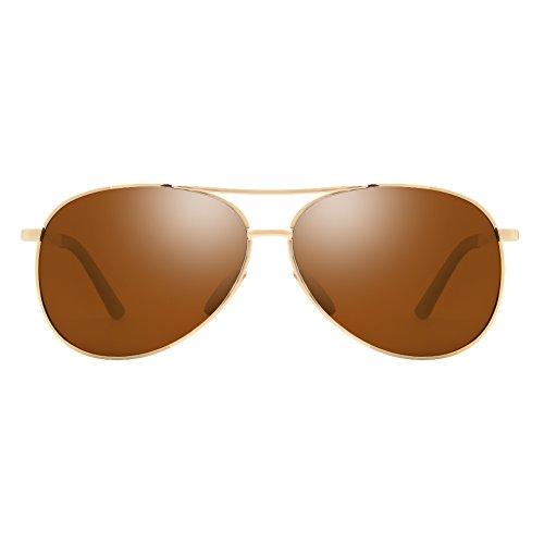 Cyxus occhiali da sole uomo polarizzati uomo occhiali da sole polarizzati uv400 protection, unisex (uomo/donna)