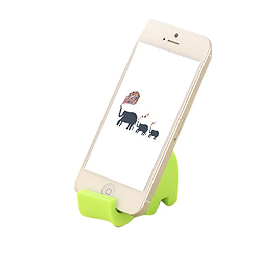 Price comparison product image Cute Elephant Phone Stand Mobile Holder Bedside MP3 Chopstick Multi Colour by Cowra