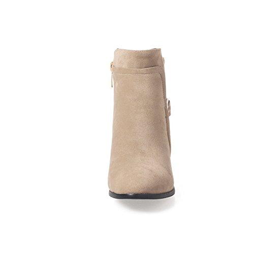 Unknown 1to9mns02470 - Sandales Compensées Femme Abricot