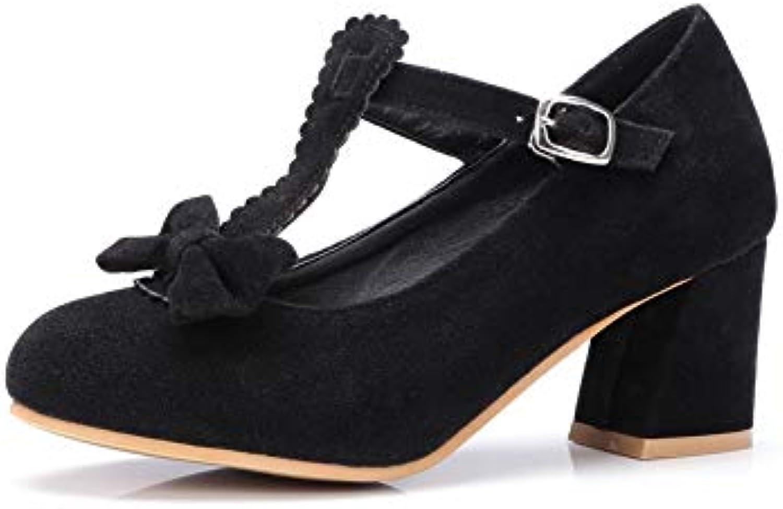 AN AN AN DGU00560,  s Compensées Femme - Noir - Noir, 36.5B07GV5N919Parent 57167a