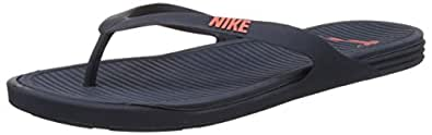 Nike Men's Matira Thong Squadron Blue and Hyper Orange Flip-Flops and House Slippers -10 UK/India (45 EU)(11 US)