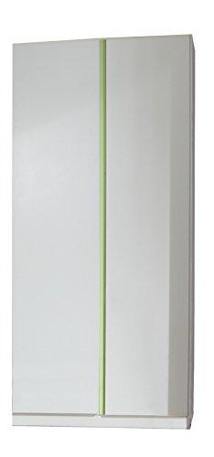 Wimex Kleiderschrank/ Drehtürenschrank Bibi, 2 Türen, (B/H/T) 90 x 197 x 58 cm, Weiß