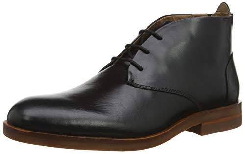 Leather Amazon Marroni Pelle Alcester Hudson shoes PwOkn0