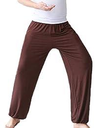 hibasing Pantalones Super Suaves de Yoga para Hombres 6d8c05c6a9ad