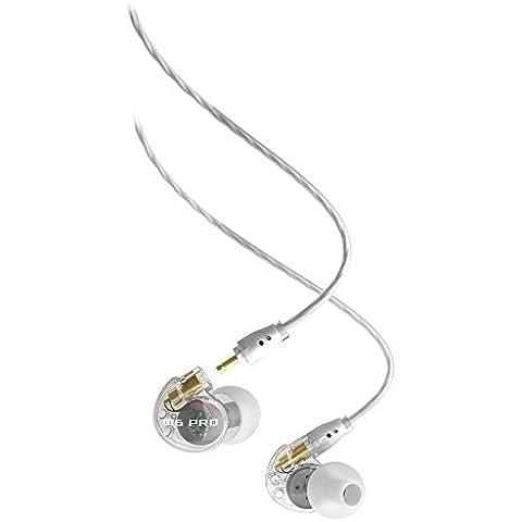 MEElectronics M6 Pro - Auriculares in-ear (reducción de ruido), blanco