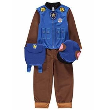 tüm Gr. 7-8 Jahre, Blus (Chase Paw Patrol-kostüm)