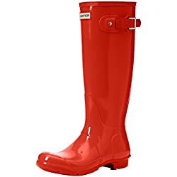 Hunter High Wellington Boots, Botas de Agua para Mujer, Naranja (Orange Ror), 39 EU