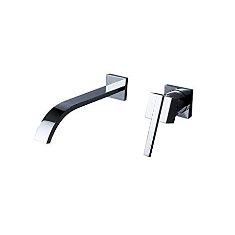 LightInTheBox Sprinkle Contemporary Taps Solid Brass Wall Mount Waterfall Bathroom Sink Taps Mixer Bath Basin Or Bath Tub Shower Tap Mixer