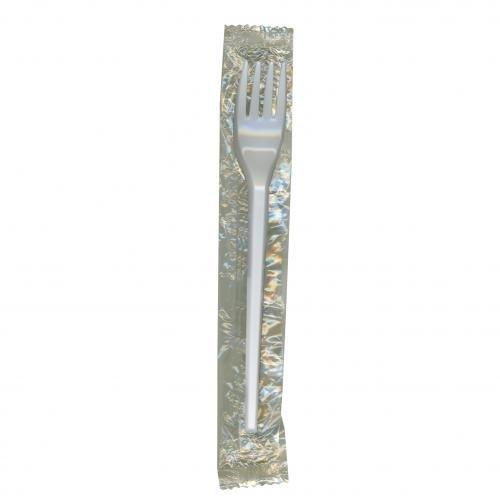 Plastico 152 Wrap enroulée Fourchette Plastique jetables (lot de 500)