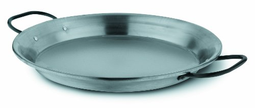 Fagor PAELLERAPUL36 - Paellera acero pulido, 36 cm, válida inducción