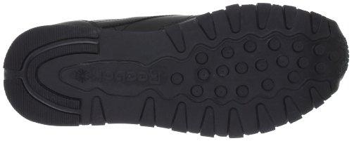 Reebok Classic Leather, Scarpe da Ginnastica Uomo Nero