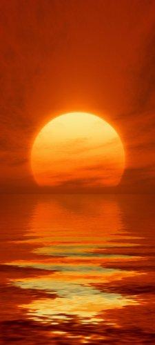 papel-separador-tt346-90-x-200-cm-papel-pintado-rojo-puesta-de-sol-en-el-mar