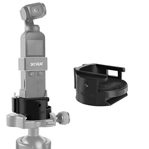 Skyreat Stabilisator WiFi Mount Holder Base, Stativadapter Funkmodul Basis für DJI Osmo Pocket Kamera Zubehör Wifi-zubehör