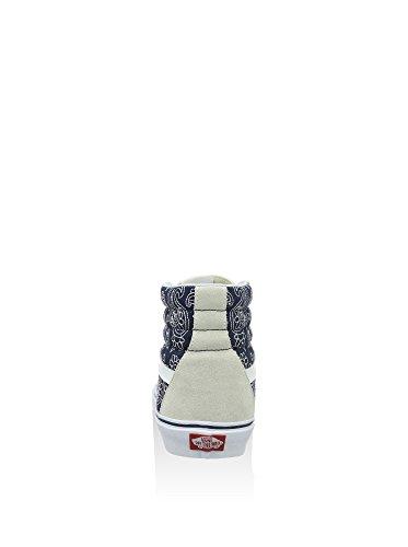 Vans UA Sk8Hi de Riz Sue Hightop Baskets Multicolore