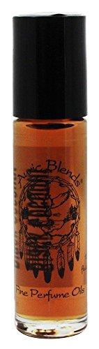 Auric Blends - Roulement fin d'huile de parfum sur la noix de coco noire - 0.33 once liquide