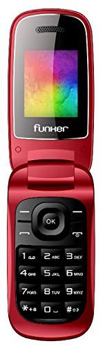 El Funker F4 Classic Flip es un teléfono clásico plegable con gran pantalla a color y teclado de máxima comodidad. --------------------------------------- Incorpora todo lo que necesitas para comunicarte y disfrutar de tu teléfono. ------------------...