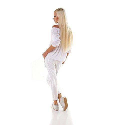 Made Italy - Chemisier - Femme Weiß