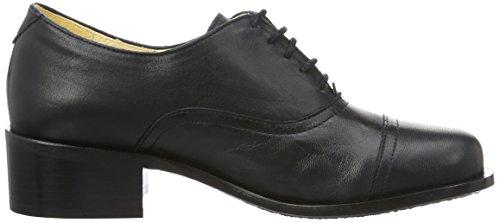 John W. Shoes Petra, Chaussures à Lacets Femme Blau (MARINO)