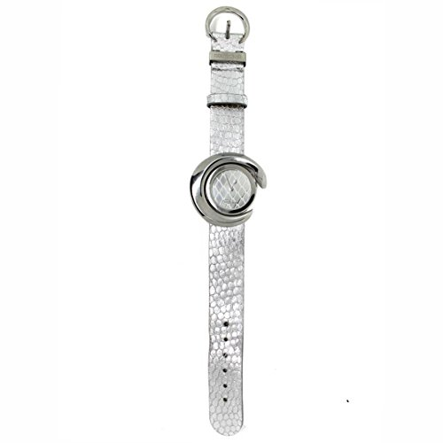 Roberto Cavalli Timewear Orologio in Pelle Mod.7251113025 Argento