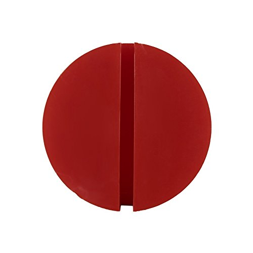 Momorain Portable Universal Silikon Slotted Car Jack Pad Rahmenschiene Schutz Design (Farbe: Rot)