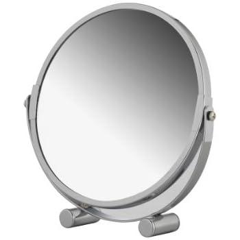 Binghotfire Miroir de Maquillage de Bureau Miroir de Bureau Grand Miroir Pliant Portable miroirs carr/és Begie