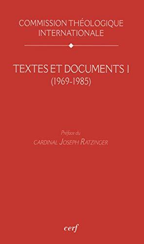 Textes et Documents I (1969-1985)