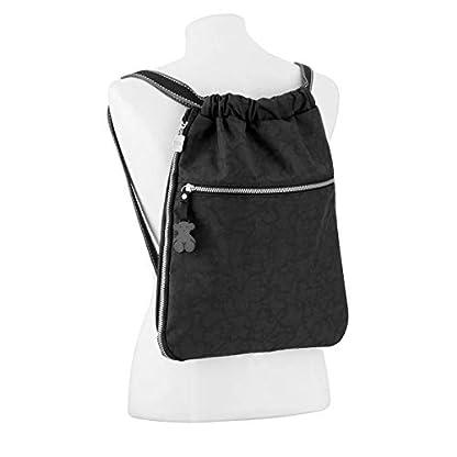 31pR3E5D jL. SS416  - Tous Mochila Kaos New Colores en color antracita-negro