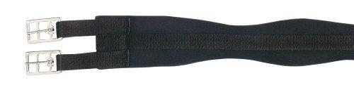 PFIFF Baumwoll-Sattelgurt, schwarz, Länge 100 cm